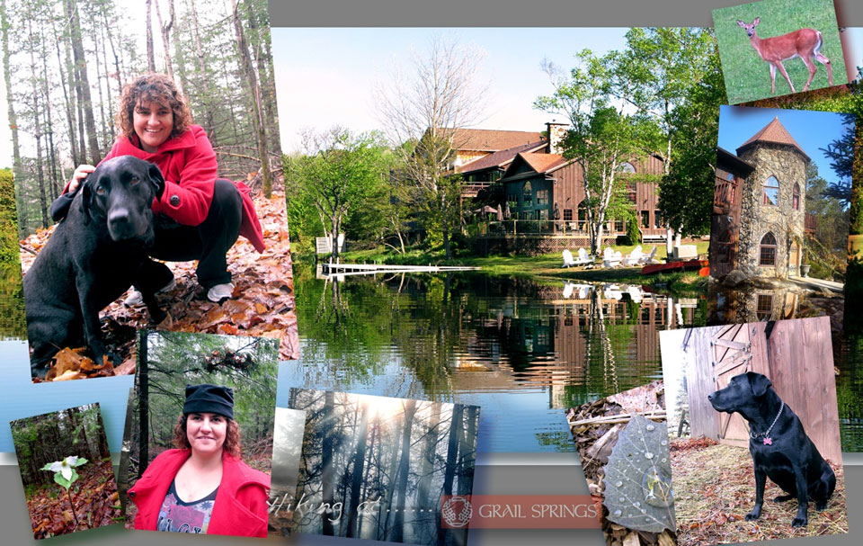 Orly at Grail Springs Retreat in Bancroft, ON